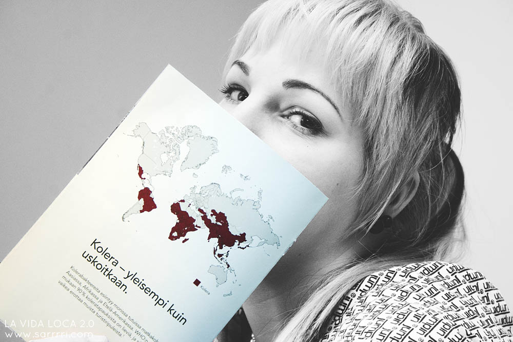 Kansainvälinen rokotuskortti | La Vida Loca 2.0 Matkablogi | www.sarrrri.com