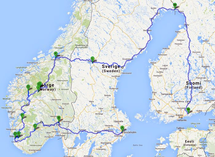 Miten Norjaan pääsee? | La Vida Loca 2.0 Matkablogi | www.sarrrri.com