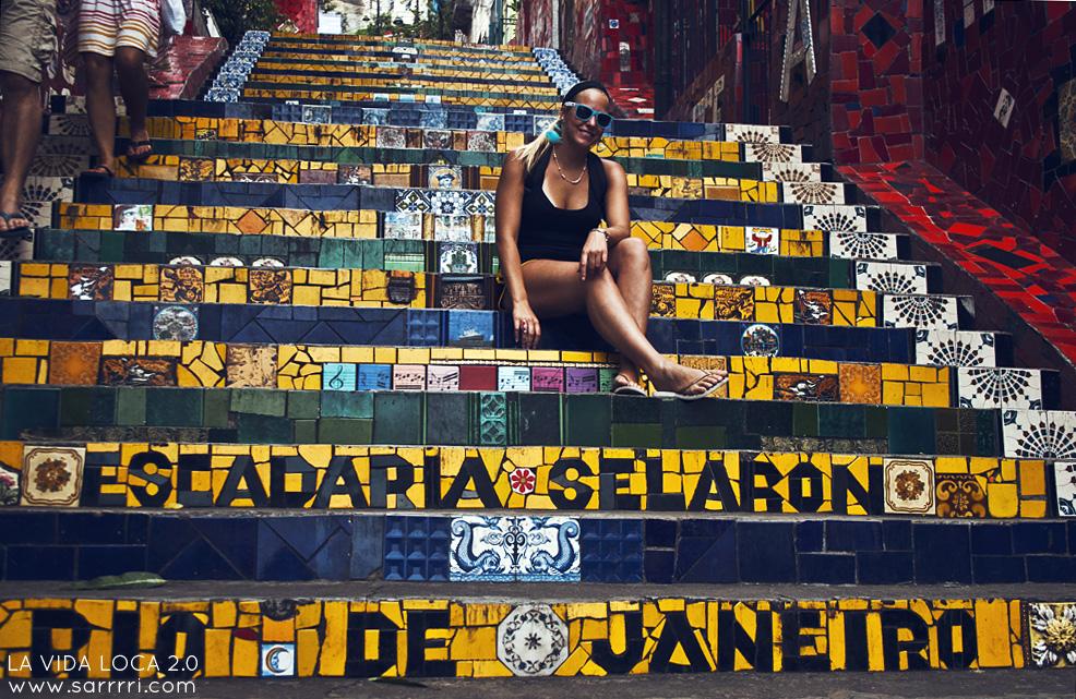 Brasilia escadaria selaron