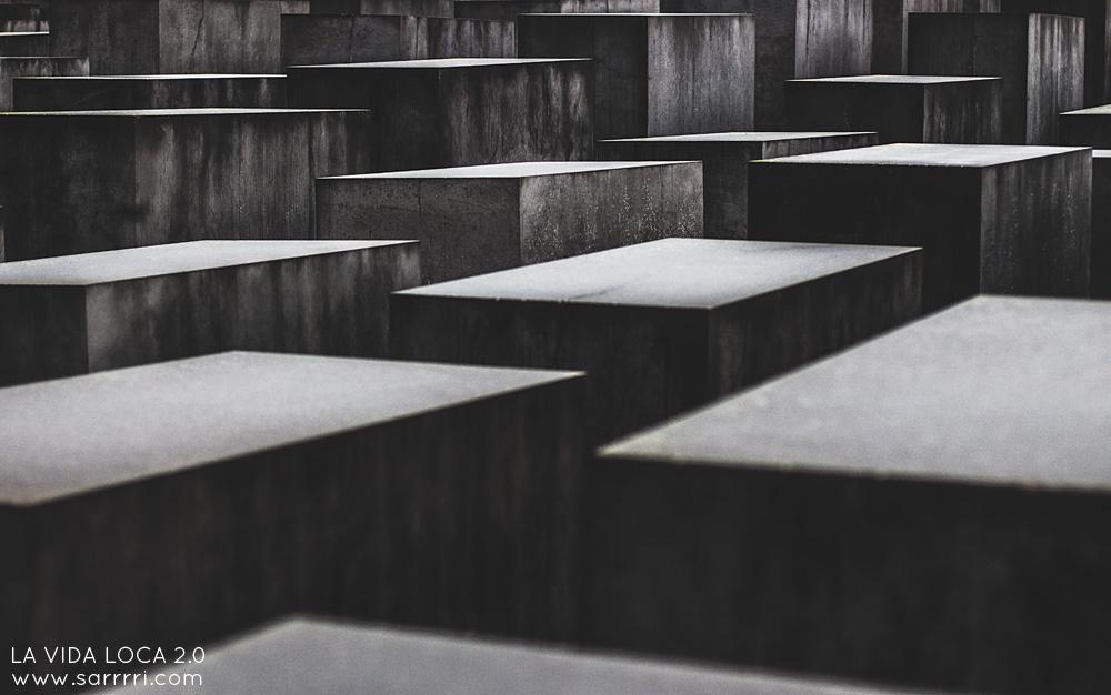 Holokaustimuistomerkki | La Vida Loca 2.0 Matkablogi | www.sarrrri.com