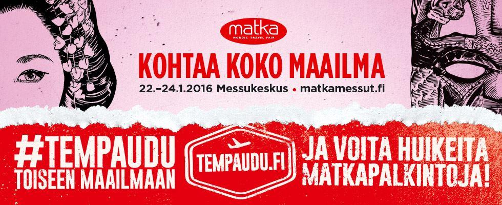 #Tempaudu   La Vida Loca 2.0 Matkablogi   www.sarrrri.com