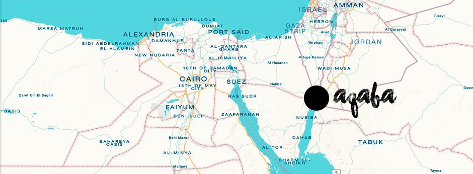 Aqaba Jordania | La Vida Loca 2.0 Matkablogi | www.sarrrri.com