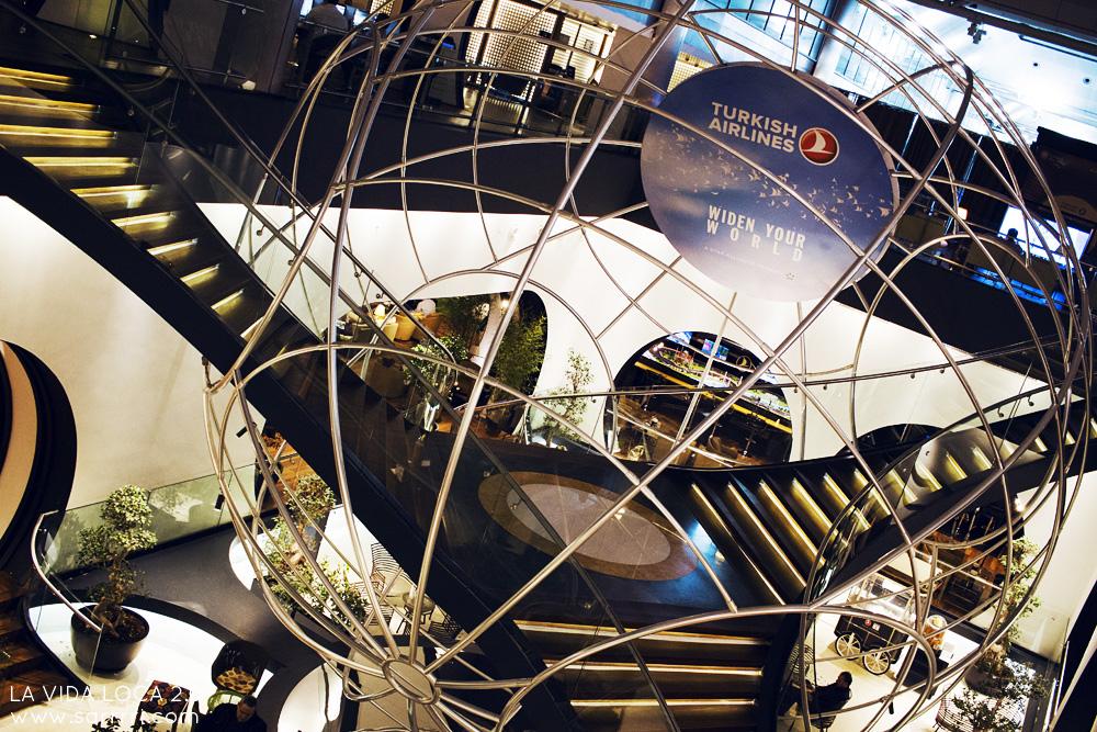 CIP Lounge Istanbul | Turkish Airlines | La Vida Loca 2.0 Matkablogi | www.sarrrri.com