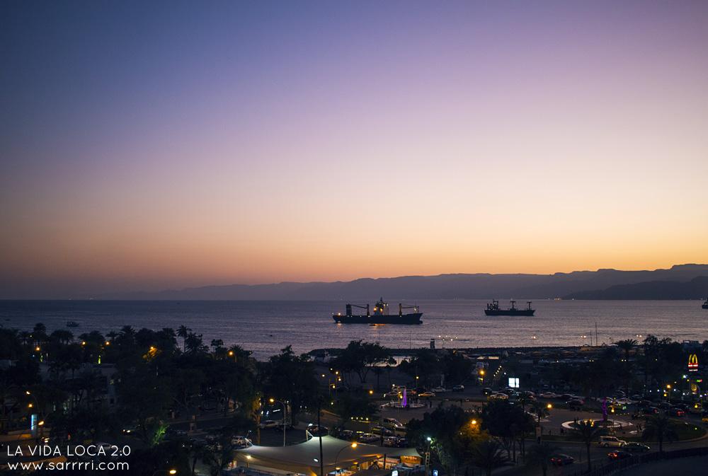 Aqaban satama punainenmeri