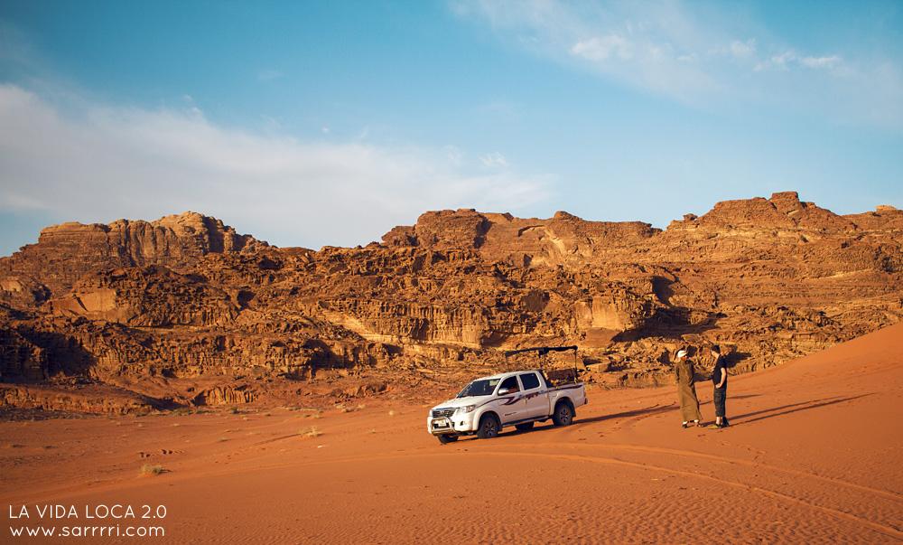 Wadi Rum beduiini jeeppisafari