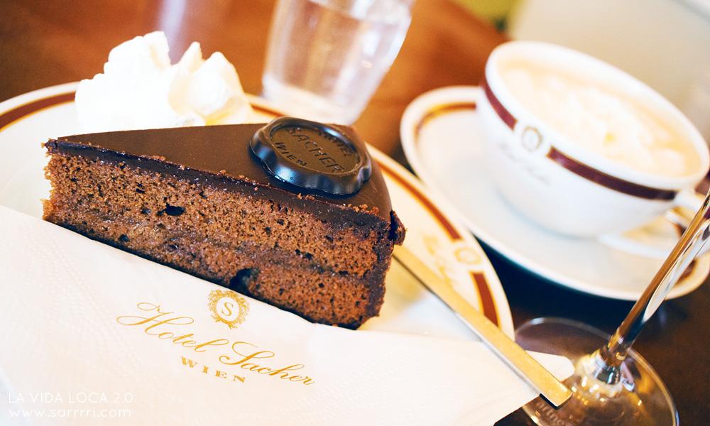 The Original Sacher Torte kahvilat Wien