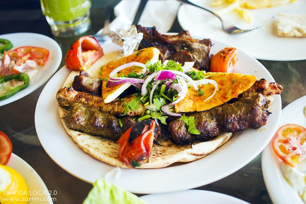 matkavinkit aqaba jordanialainen ruoka