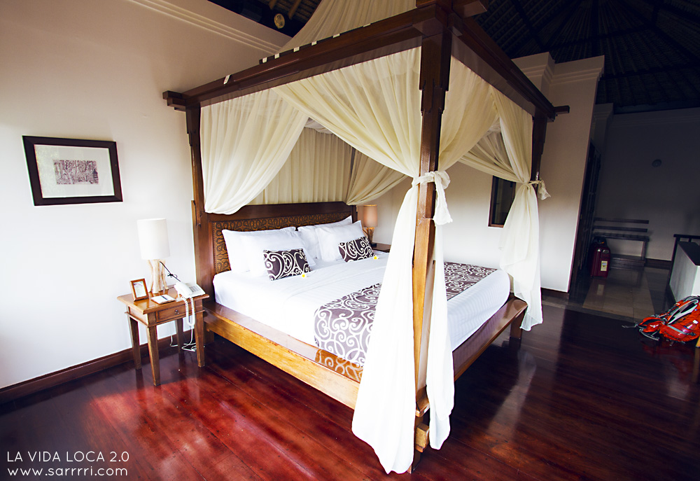 Natura Villas And Spa Ubud Bali | La Vida Loca 2.0 Matkablogi | www.sarrrri.com