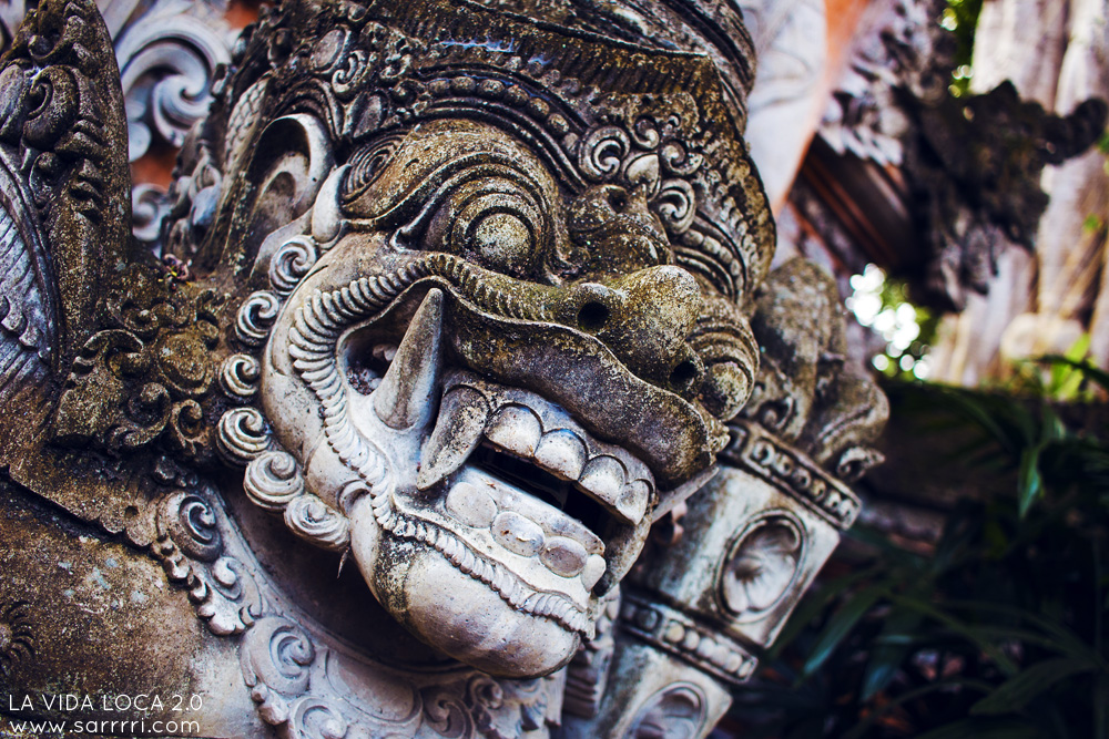 Ubud Bali statue