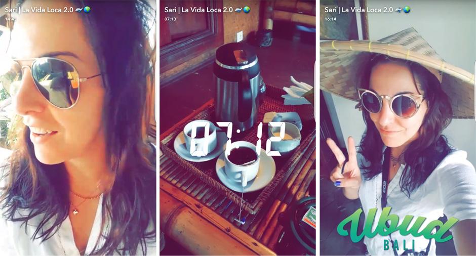 Snapchat | La Vida Loca 2.0 Matkablogi | www.sarrrri.com