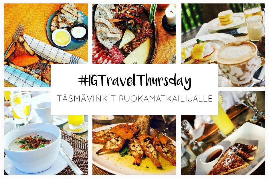 Instagram Travel Thursday   La Vida Loca 2.0 Matkablogi   www.sarrrri.com