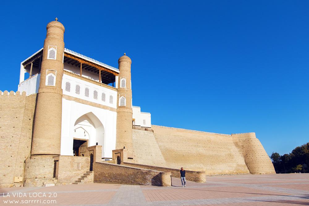 Bukhara Uzbekistan Ark Citadel | La Vida Loca 2.0 Matkablogi | www.sarrrri.com