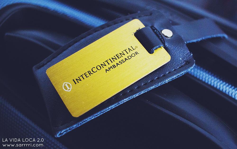 InterContinental Ambassador | La Vida Loca 2.0 Matkablogi | www.sarrrri.com