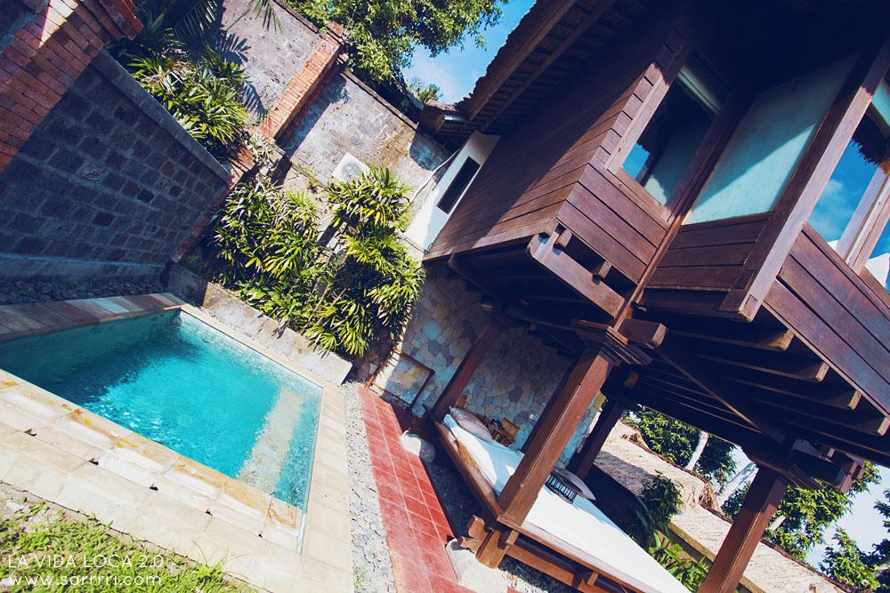 provate villa ubud pool