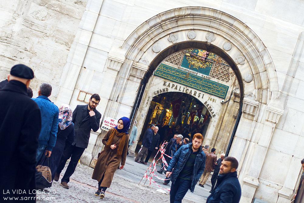 Grand bazaar Istanbul Pääsisäänkäynti