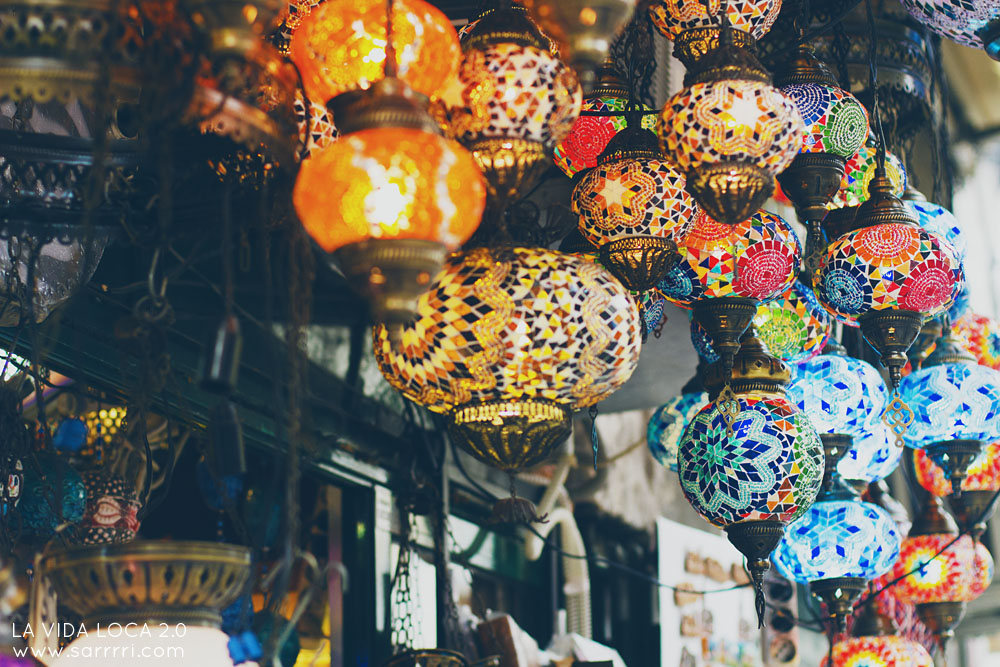 Grand bazaar Istanbul turkkilaiset lyhdyt