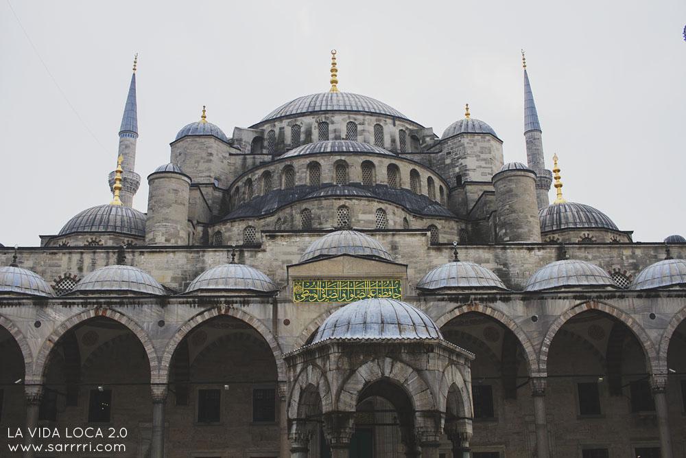 Istanbul sininen moskeija