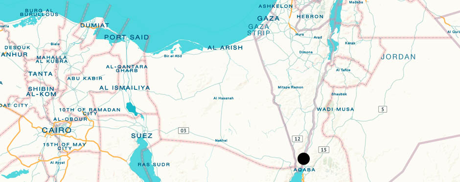 Aqaba, Jordania | La Vida Loca 2.0 Matkablogi | www.sarrrri.com