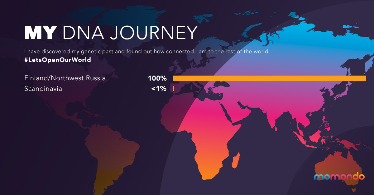 DNA Journey | La Vida Loca 2.0 Matkablogi | www.sarrrri.com