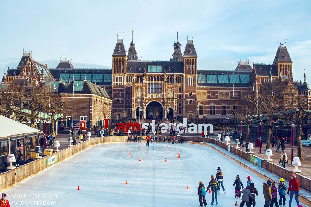 Rijksmuseum Amsterdam I Amsterdam sign