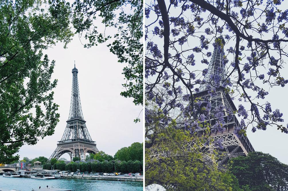 Pariisi nähtävyydet Eiffel