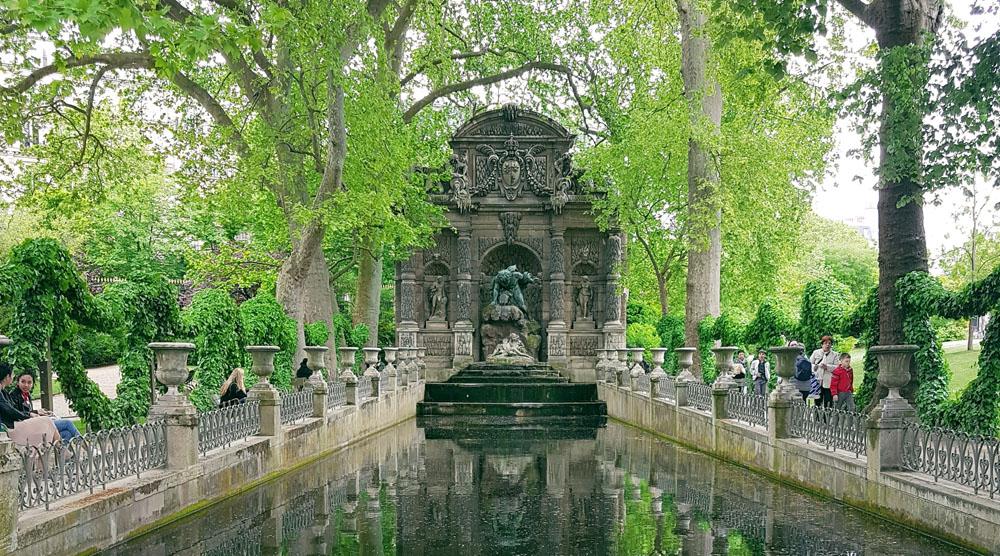Pariisi nähtävyydet Jardin du luxembourg