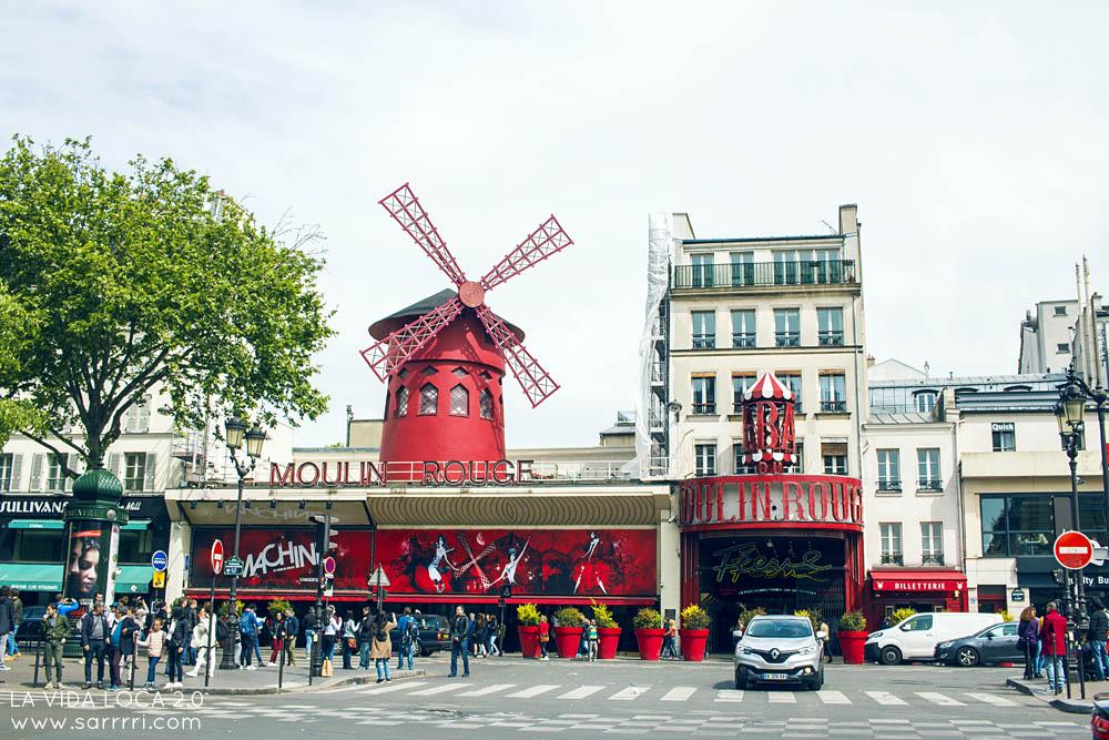 Pariisi nähtävyydet moulin rouge