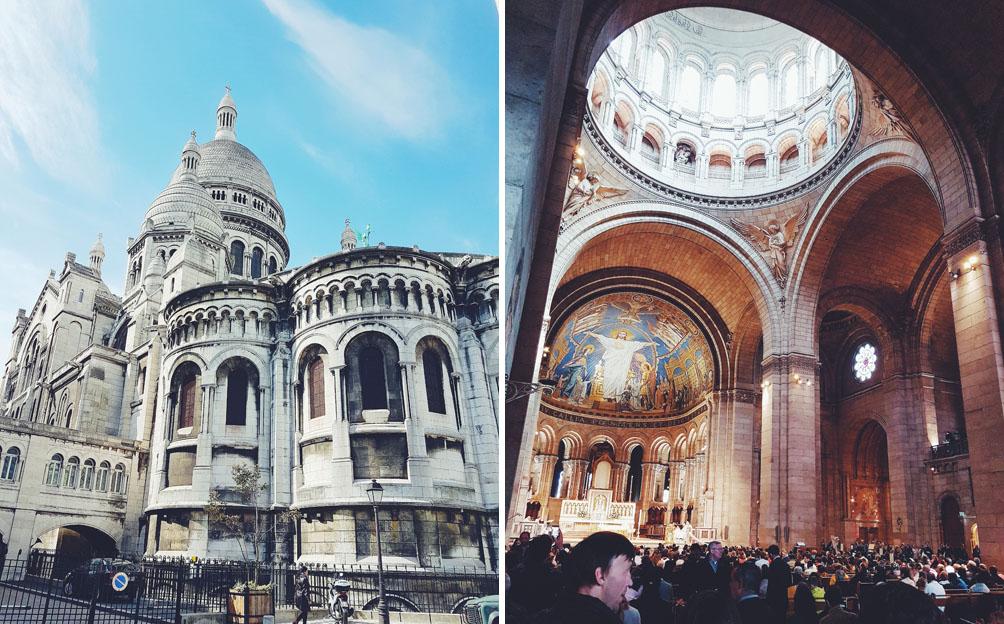 Pariisi nähtävyydet sacre coeur