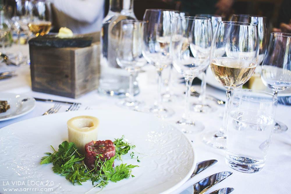 Linnankrouvi Mustio linna ravintola tartar lounas
