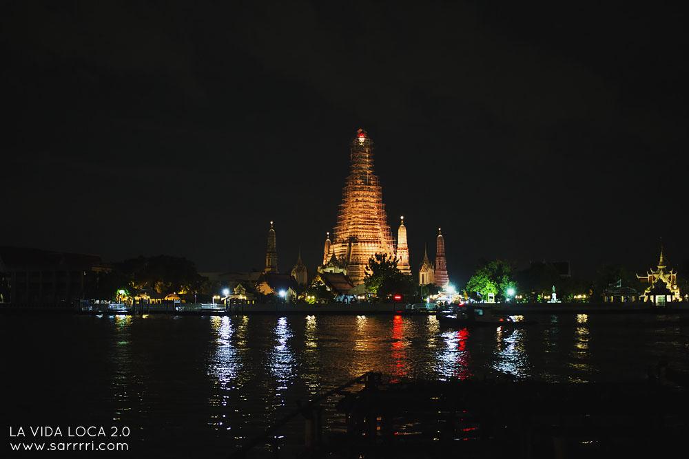 Matkapäiväkirja Bangkok wat arun