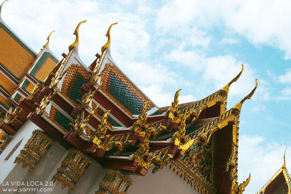 Matkapäiväkirja Bangkok wat pho