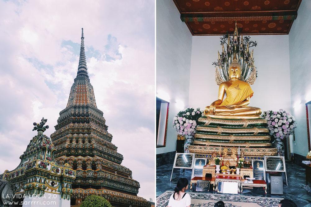 Bangkok temppelit wat pho