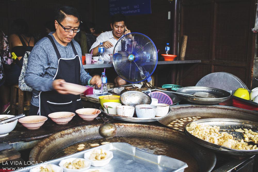 Matkapäiväkirja Bangkok Street food