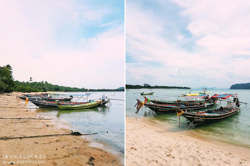 Koh Madsum matkapäiväkirja pitkähäntävene thaimaa