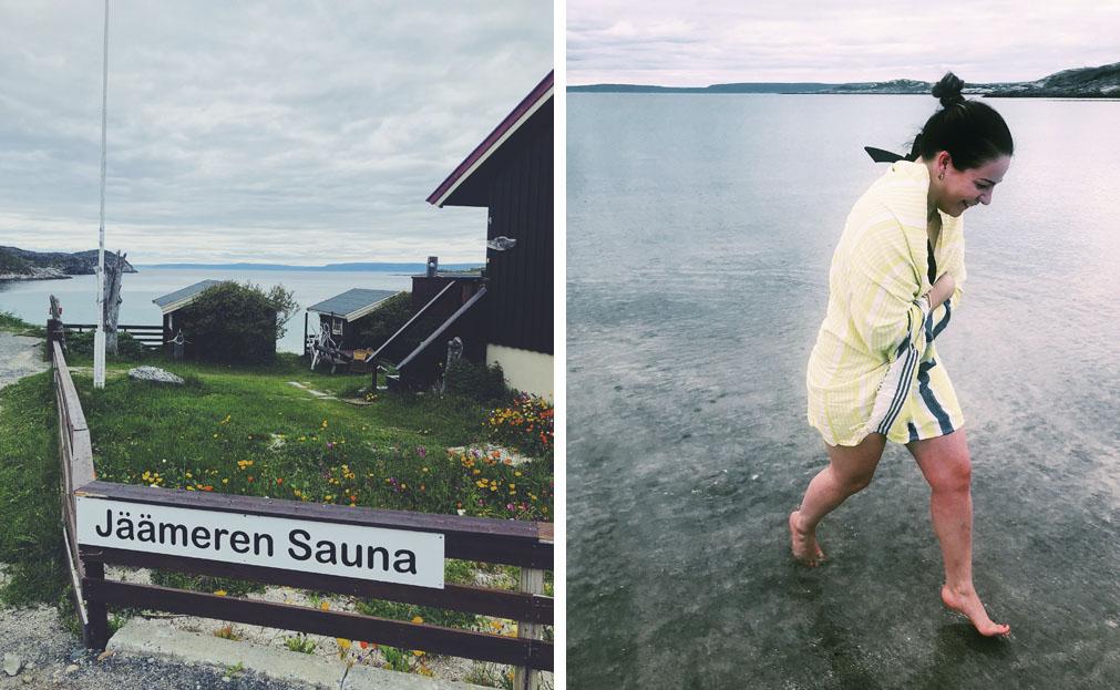 jäämeren sauna pykeija