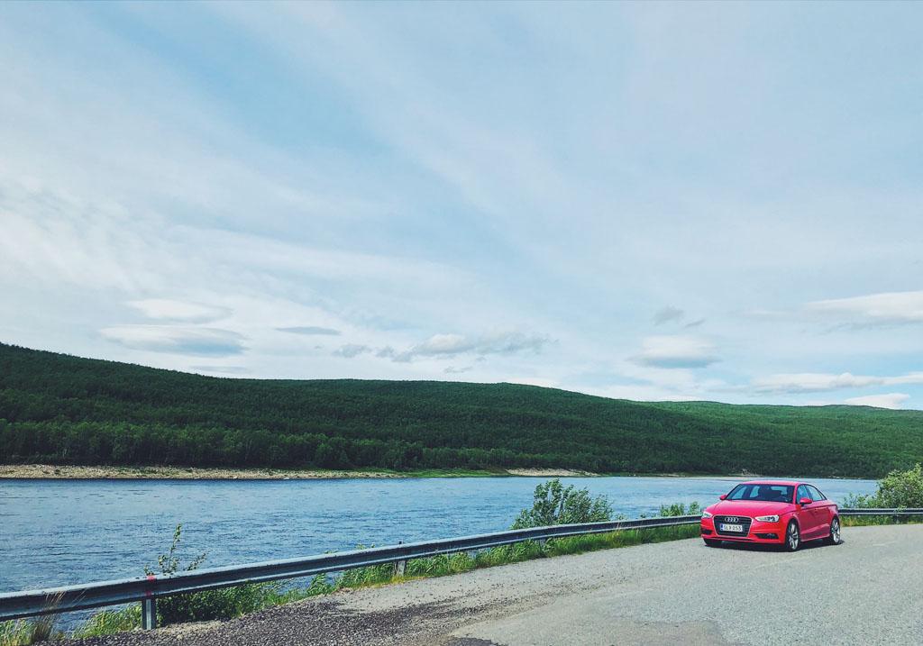 road trip norja lappi