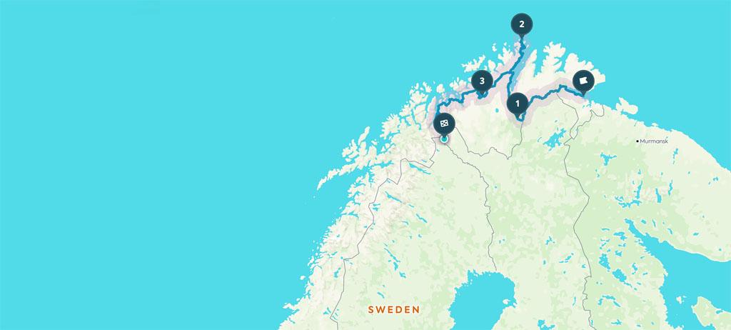 Matkapaivakirja Road Trip Karigasniemi Honningsvag Nordkapp