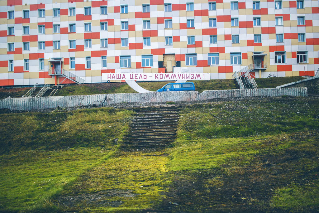 Barentsburg Huippuvuoret