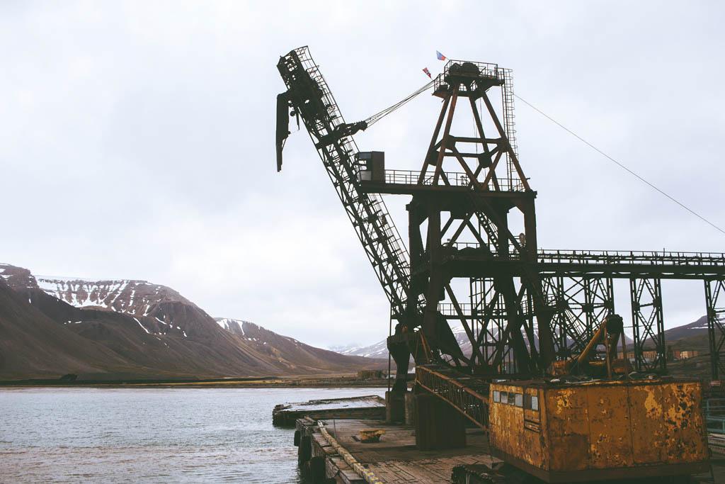 Pyramiden Huippuvuoret Svalbard