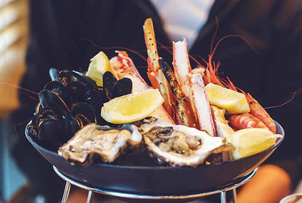 Tromssa ravintola fiskekompaniet