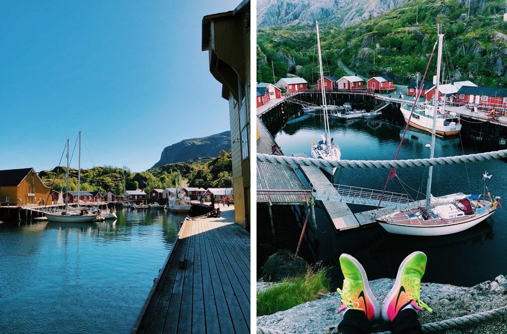 Nusfjord Lofootit autolla